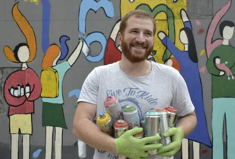 Giorgi Gagoshidze (Gagosha), a Professional Street Artist.